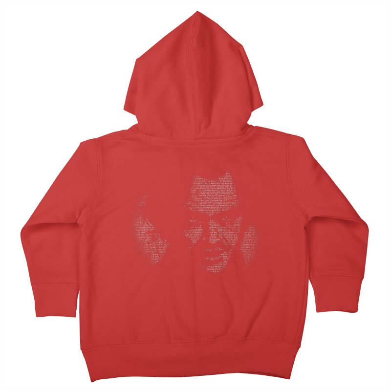 All Work and No Play Kids Toddler Zip-Up Hoody by bennygraphix's Artist Shop