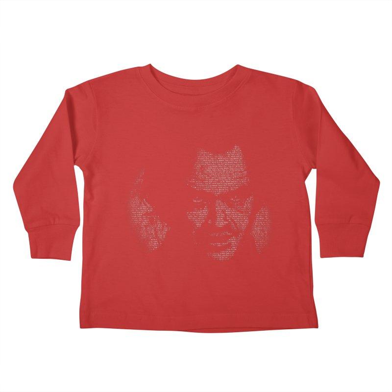 All Work and No Play Kids Toddler Longsleeve T-Shirt by bennygraphix's Artist Shop