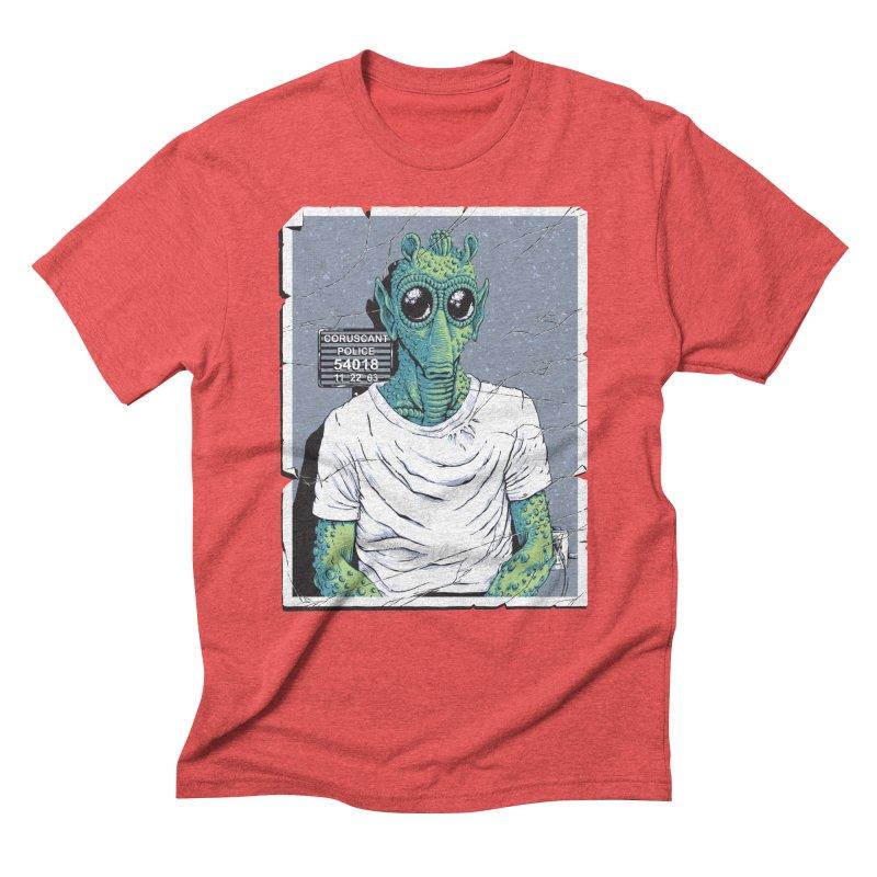 Lone Gunman Men's Triblend T-Shirt by bennygraphix's Artist Shop