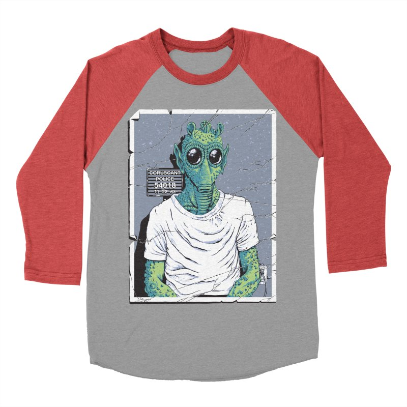 Lone Gunman Women's Baseball Triblend T-Shirt by bennygraphix's Artist Shop