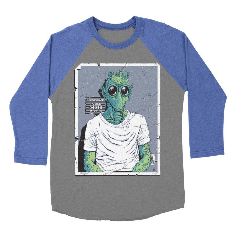 Lone Gunman Men's Baseball Triblend T-Shirt by bennygraphix's Artist Shop