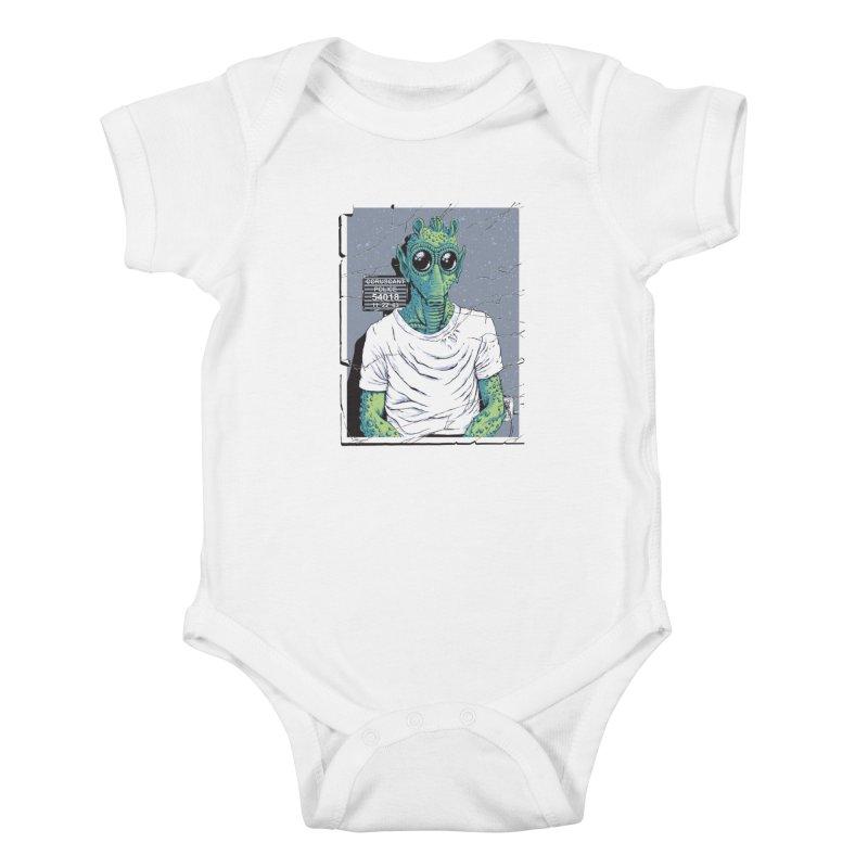 Lone Gunman Kids Baby Bodysuit by bennygraphix's Artist Shop