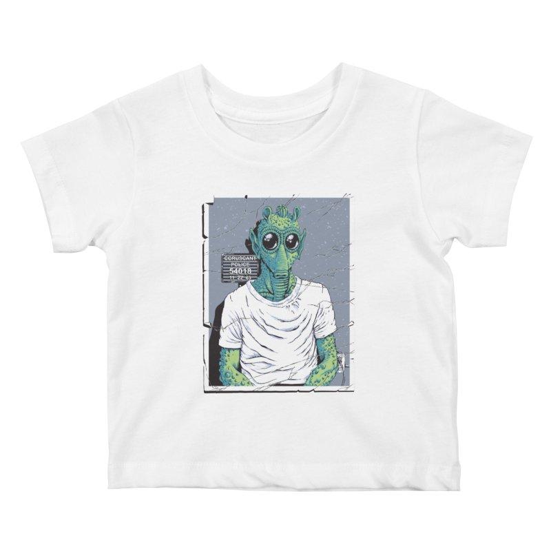 Lone Gunman Kids Baby T-Shirt by bennygraphix's Artist Shop
