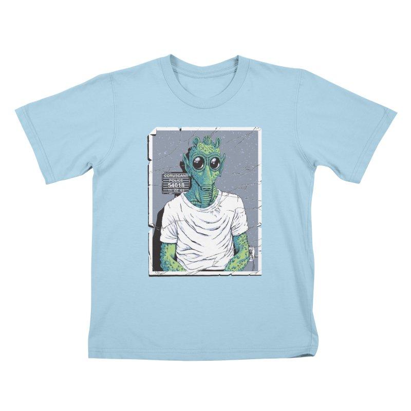 Lone Gunman Kids T-Shirt by bennygraphix's Artist Shop