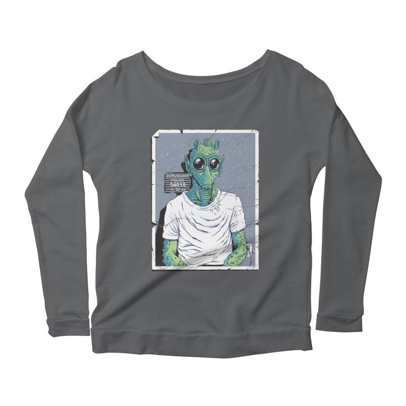 Lone Gunman Women's Scoop Neck Longsleeve T-Shirt by bennygraphix's Artist Shop