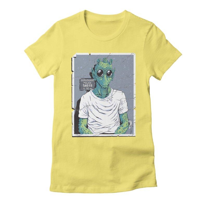Lone Gunman Women's Fitted T-Shirt by bennygraphix's Artist Shop