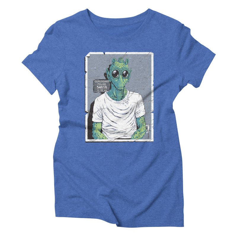 Lone Gunman Women's Triblend T-Shirt by bennygraphix's Artist Shop