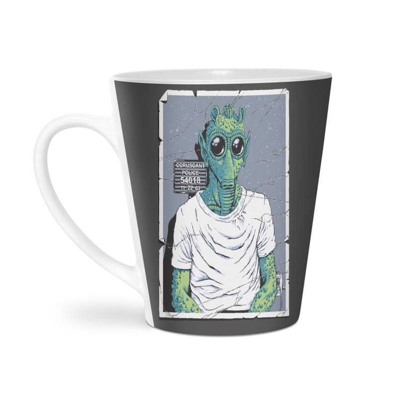 Lone Gunman Accessories Latte Mug by bennygraphix's Artist Shop