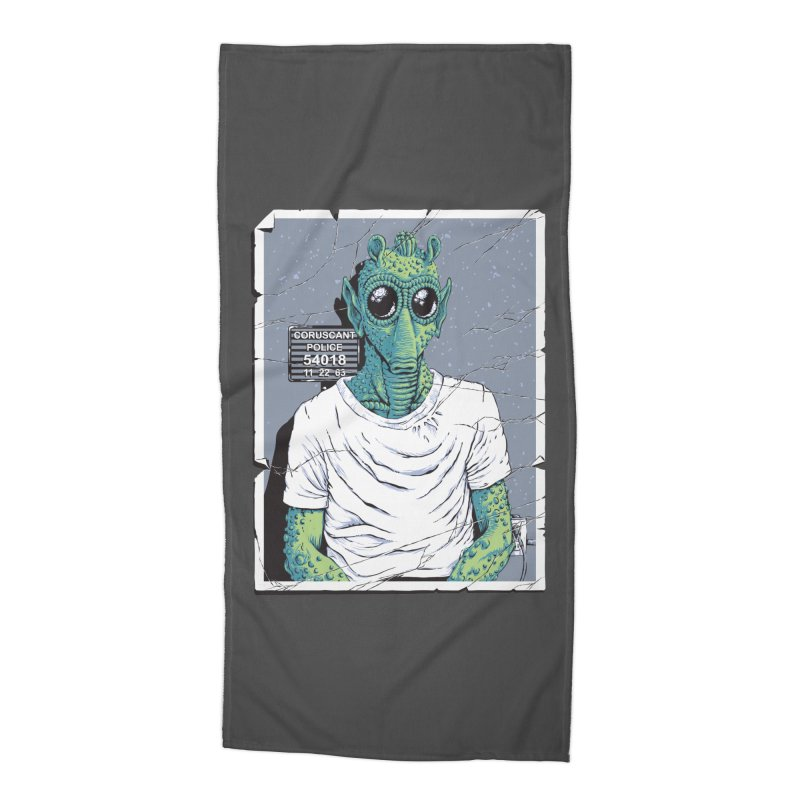 Lone Gunman Accessories Beach Towel by bennygraphix's Artist Shop
