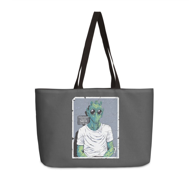 Lone Gunman Accessories Weekender Bag Bag by bennygraphix's Artist Shop