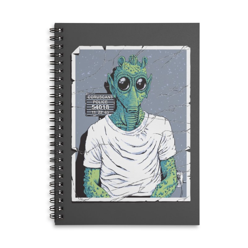 Lone Gunman Accessories Lined Spiral Notebook by bennygraphix's Artist Shop