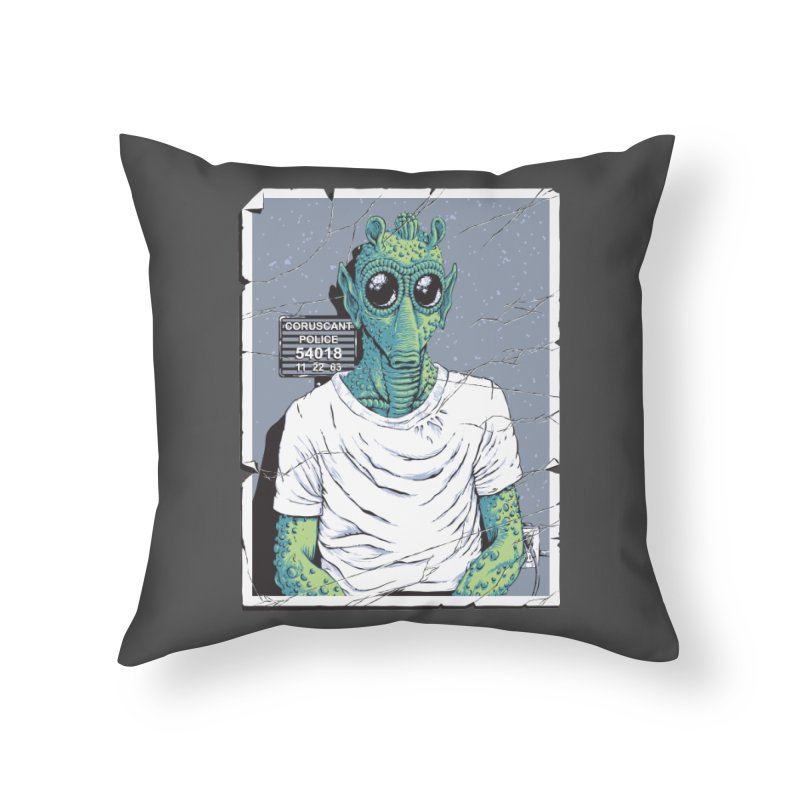 Lone Gunman Home Throw Pillow by bennygraphix's Artist Shop