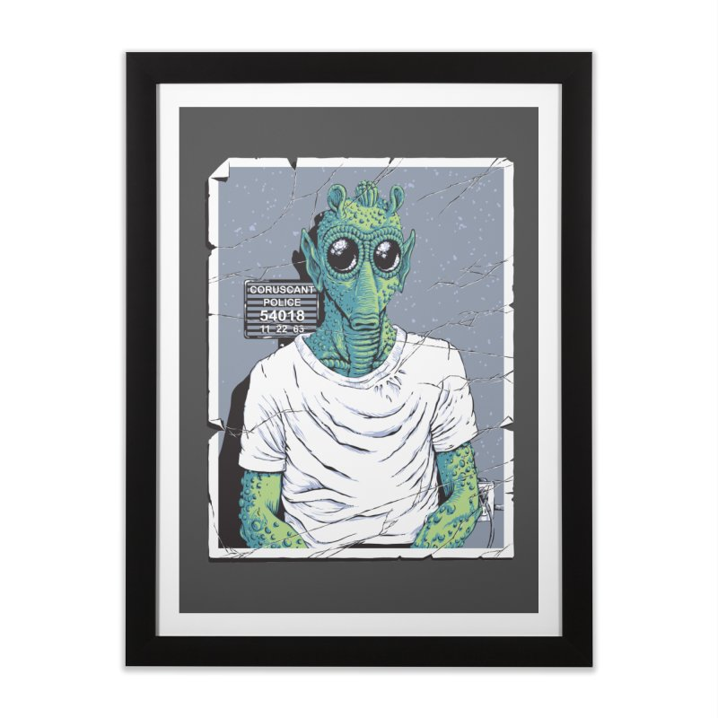 Lone Gunman Home Framed Fine Art Print by bennygraphix's Artist Shop