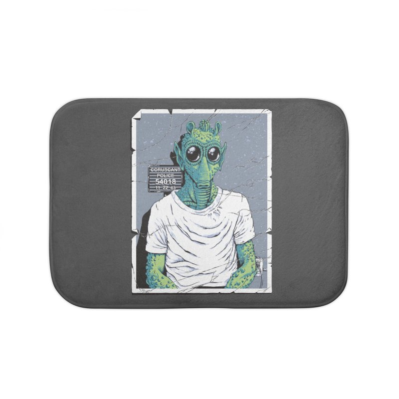 Lone Gunman Home Bath Mat by bennygraphix's Artist Shop