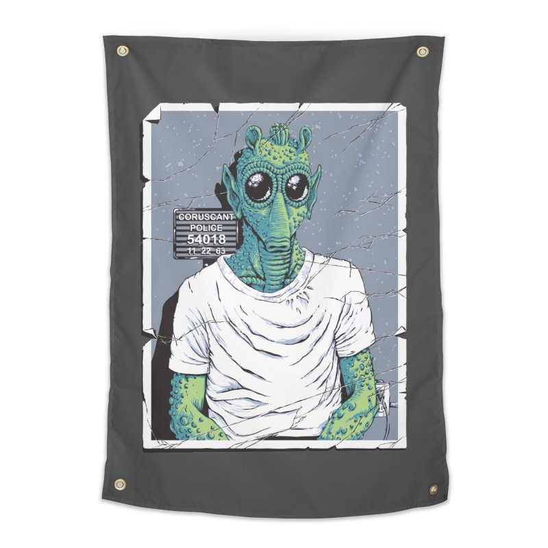Lone Gunman Home Tapestry by bennygraphix's Artist Shop