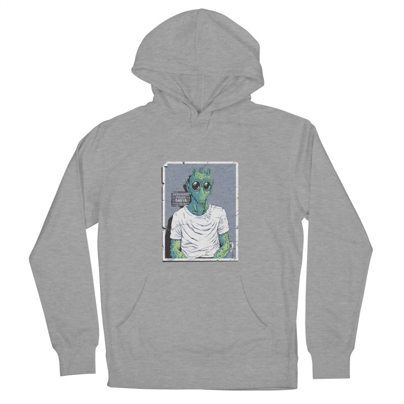 Lone Gunman Women's French Terry Pullover Hoody by bennygraphix's Artist Shop