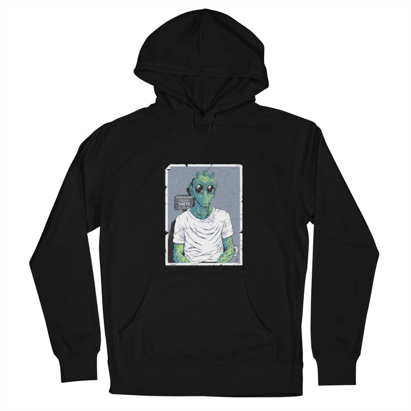 Lone Gunman Men's French Terry Pullover Hoody by bennygraphix's Artist Shop