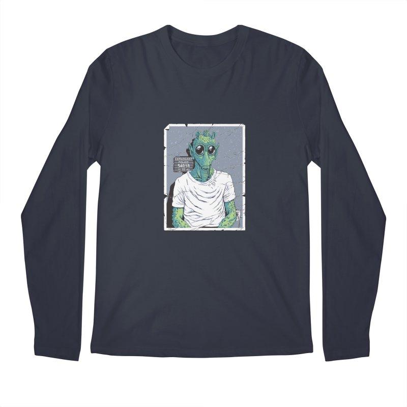 Lone Gunman Men's Regular Longsleeve T-Shirt by bennygraphix's Artist Shop