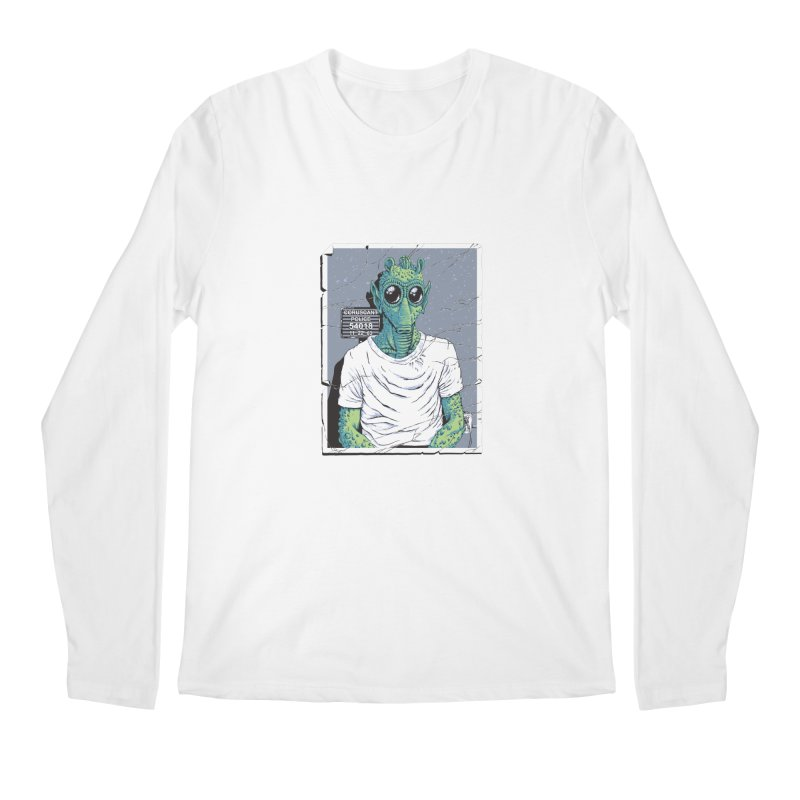 Lone Gunman Men's Regular Longsleeve T-Shirt by bennygraphix's Artist Shop