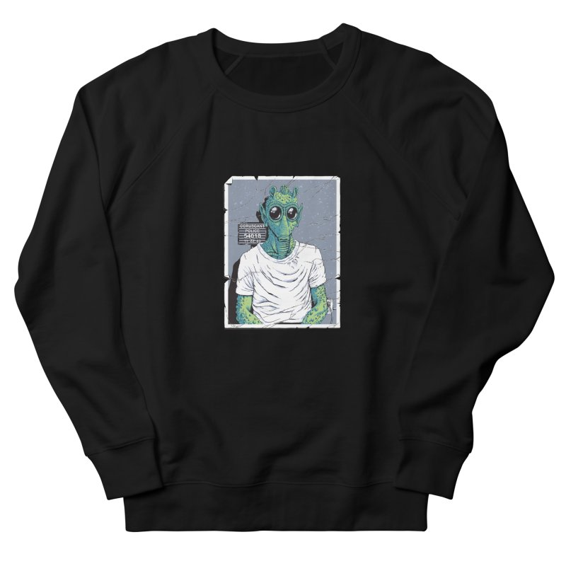 Lone Gunman Women's French Terry Sweatshirt by bennygraphix's Artist Shop