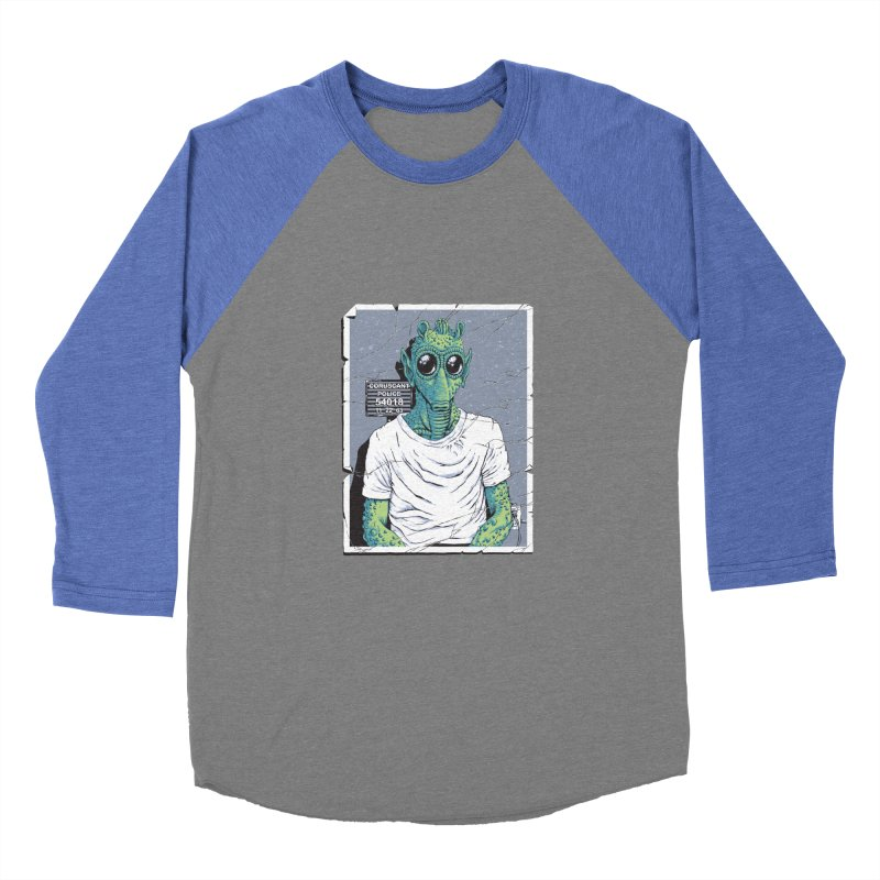 Lone Gunman Men's Baseball Triblend Longsleeve T-Shirt by bennygraphix's Artist Shop