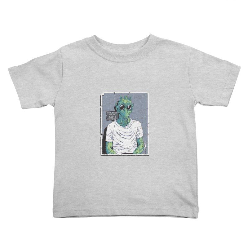 Lone Gunman Kids Toddler T-Shirt by bennygraphix's Artist Shop
