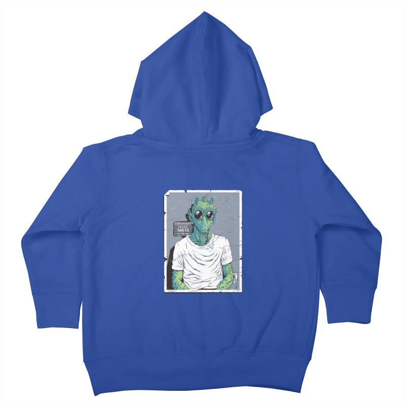 Lone Gunman Kids Toddler Zip-Up Hoody by bennygraphix's Artist Shop