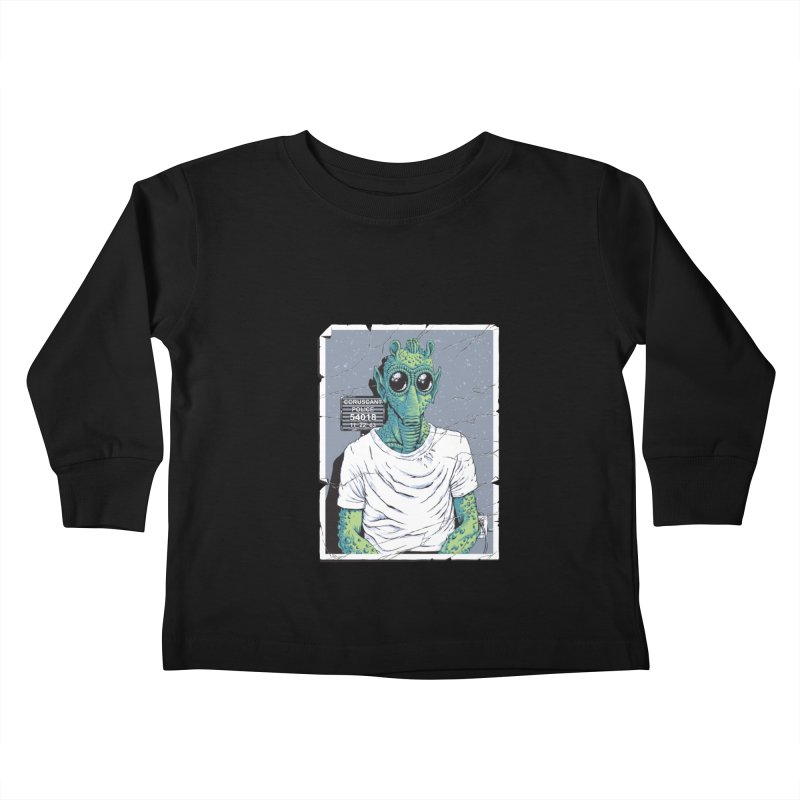 Lone Gunman Kids Toddler Longsleeve T-Shirt by bennygraphix's Artist Shop
