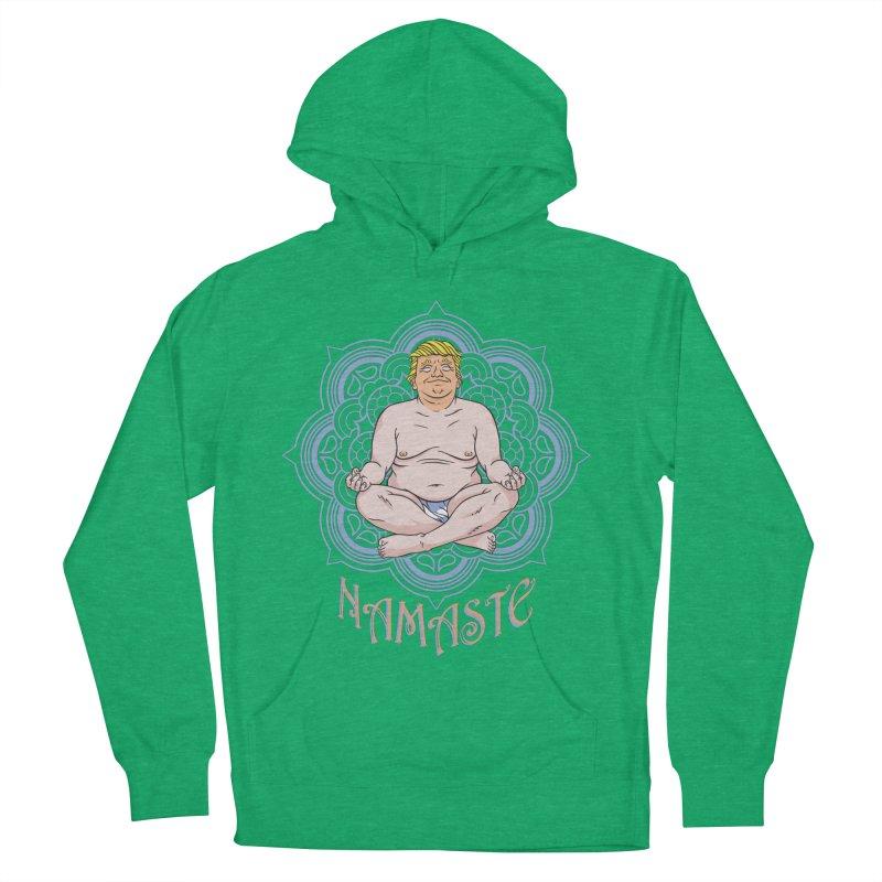 Namaste Trump Men's Pullover Hoody by bennygraphix's Artist Shop