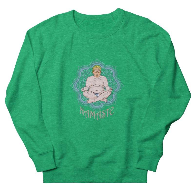 Namaste Trump Women's French Terry Sweatshirt by bennygraphix's Artist Shop