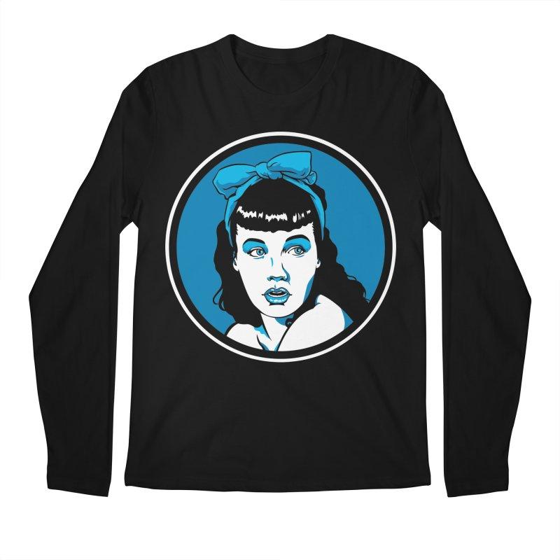 Bettie Bow Men's Longsleeve T-Shirt by bennygraphix's Artist Shop