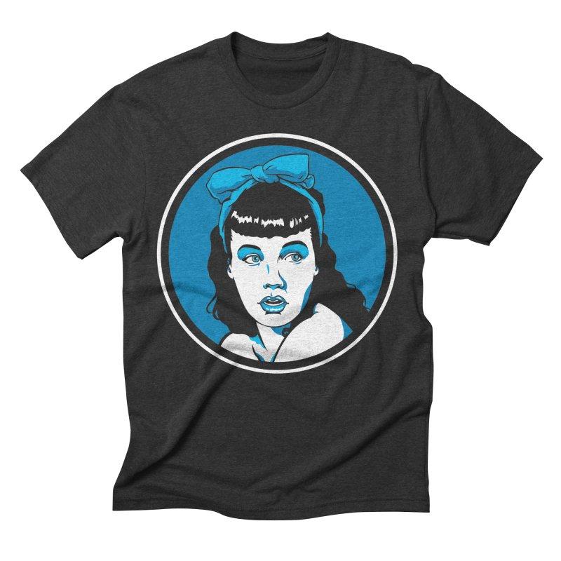 Bettie Bow Men's Triblend T-Shirt by bennygraphix's Artist Shop