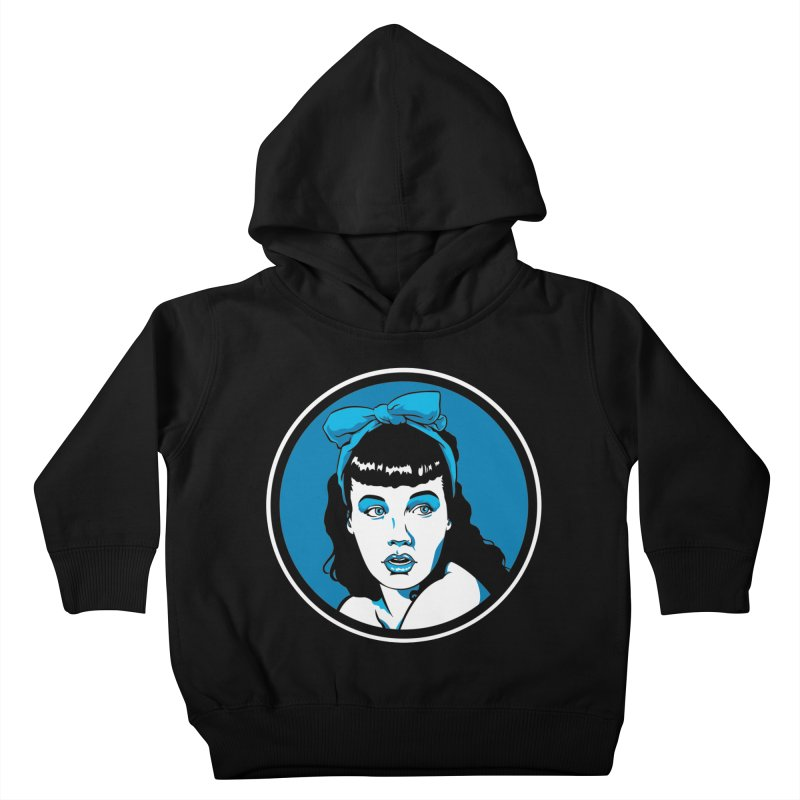 Bettie Bow Kids Toddler Pullover Hoody by bennygraphix's Artist Shop