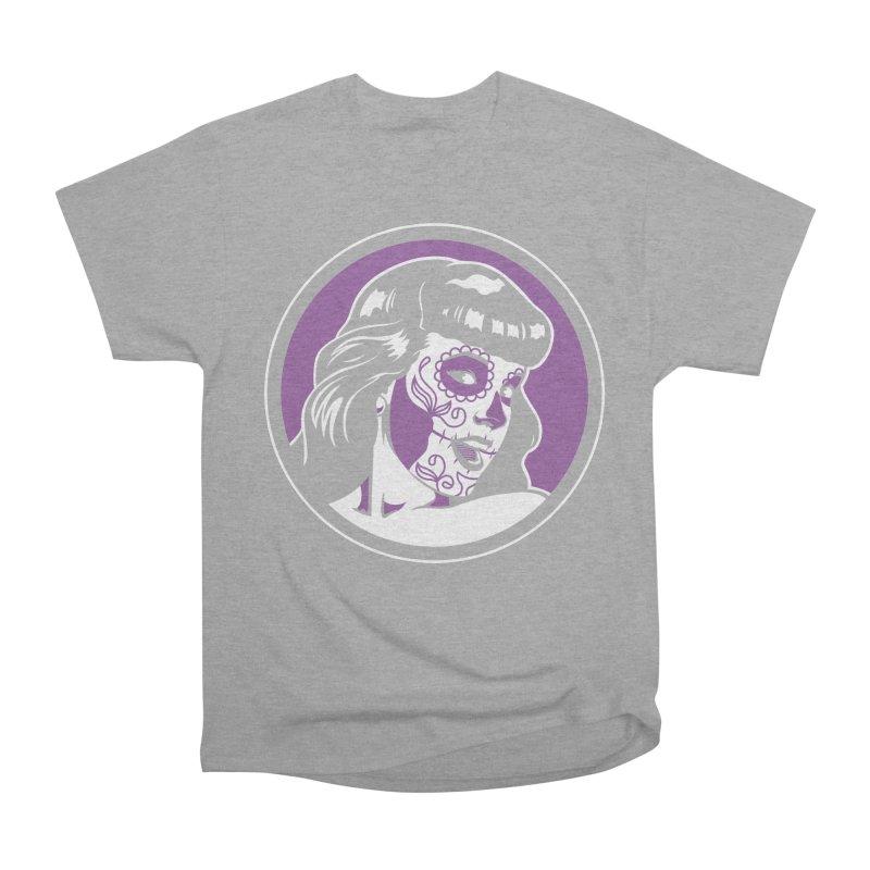 Bettie Sugar Skull Violet Women's Classic Unisex T-Shirt by bennygraphix's Artist Shop