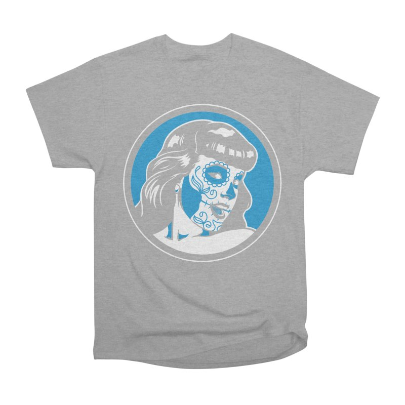 Bettie Sugar Skull Blue Men's Classic T-Shirt by bennygraphix's Artist Shop