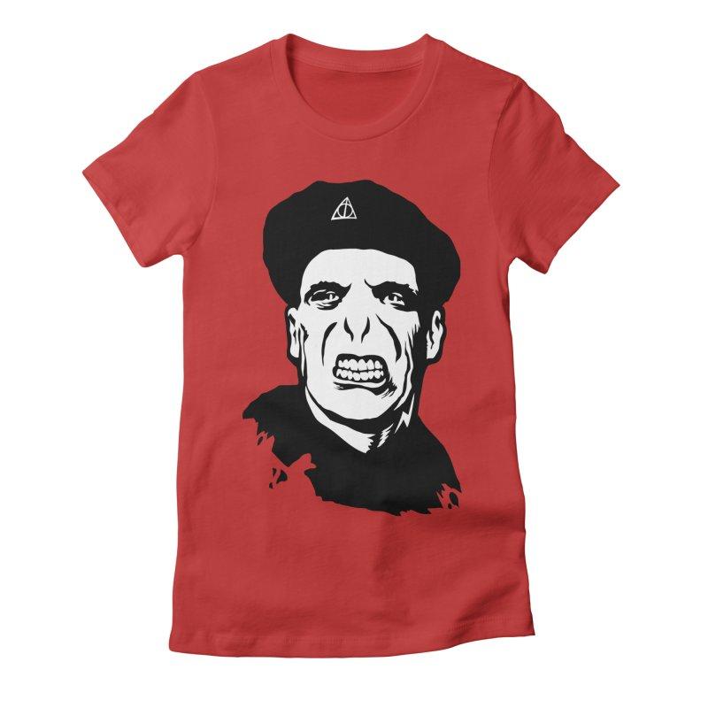 Viva El Voldemort! Women's Fitted T-Shirt by bennygraphix's Artist Shop