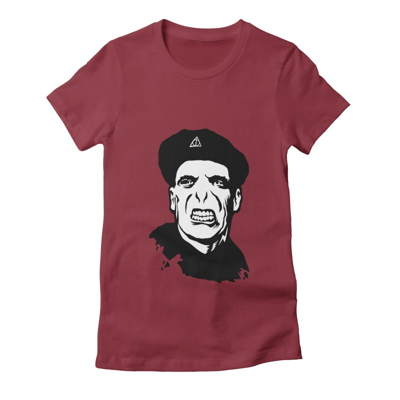 Viva El Voldemort! Women's Fitted T-Shirt by bennygraphix's Artist Shop