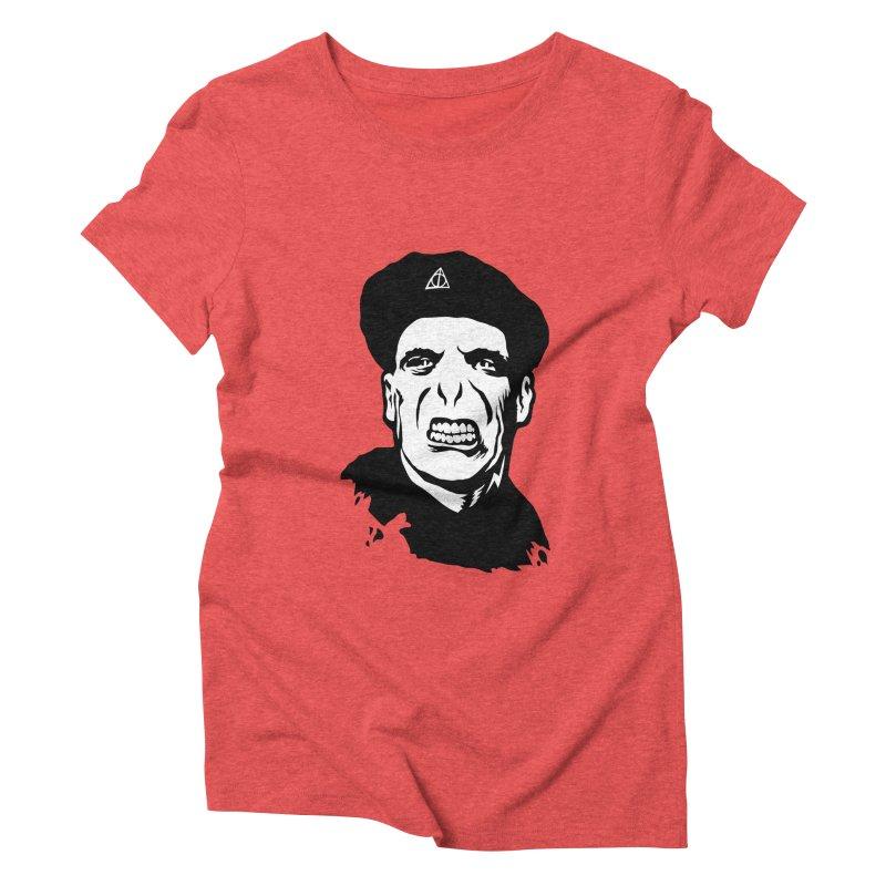 Viva El Voldemort! Women's Triblend T-Shirt by bennygraphix's Artist Shop
