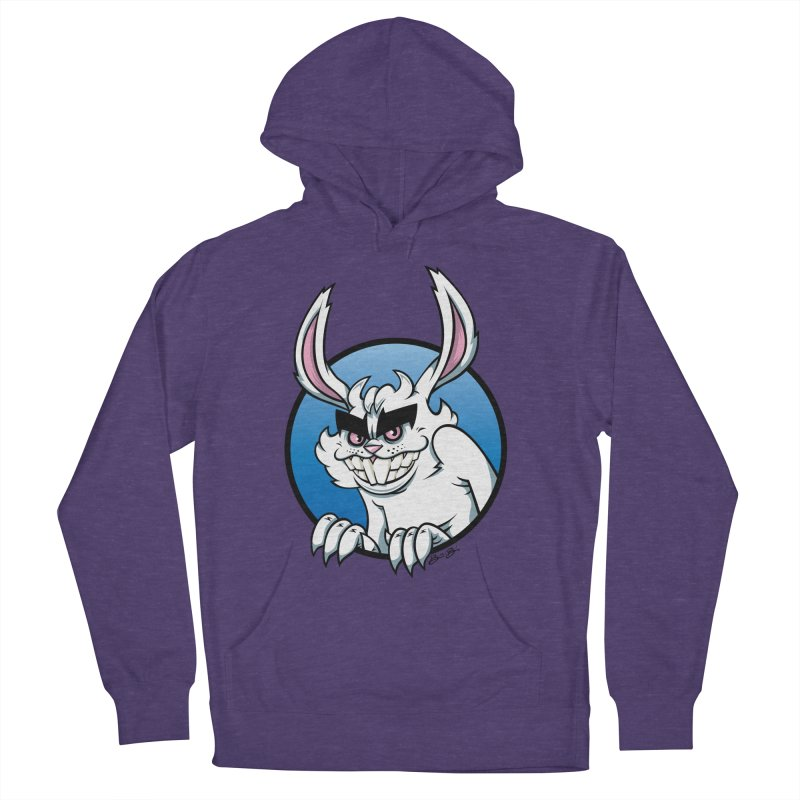 Bad Bunny Men's French Terry Pullover Hoody by bennygraphix's Artist Shop