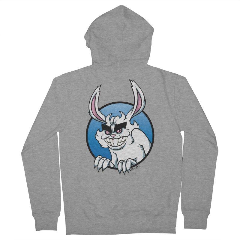 Bad Bunny Men's Zip-Up Hoody by bennygraphix's Artist Shop