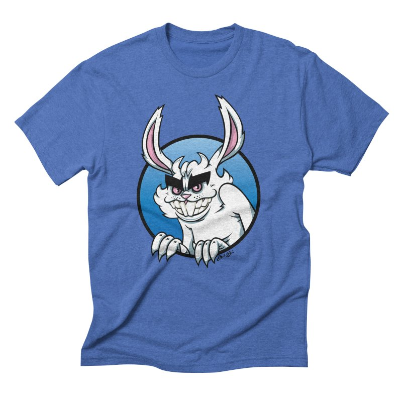 Bad Bunny Men's Triblend T-Shirt by bennygraphix's Artist Shop