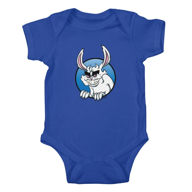 Bad Bunny Kids Baby Bodysuit by bennygraphix's Artist Shop