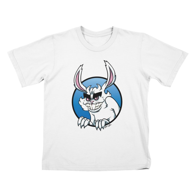 Bad Bunny Kids T-Shirt by bennygraphix's Artist Shop