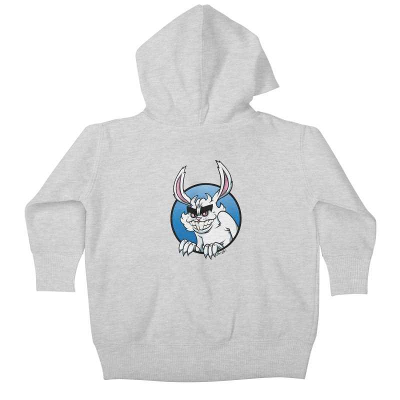 Bad Bunny Kids Baby Zip-Up Hoody by bennygraphix's Artist Shop