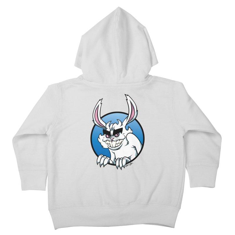 Bad Bunny Kids Toddler Zip-Up Hoody by bennygraphix's Artist Shop