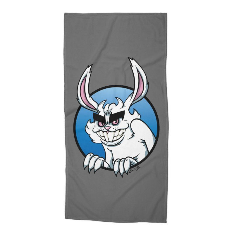 Bad Bunny Accessories Beach Towel by bennygraphix's Artist Shop