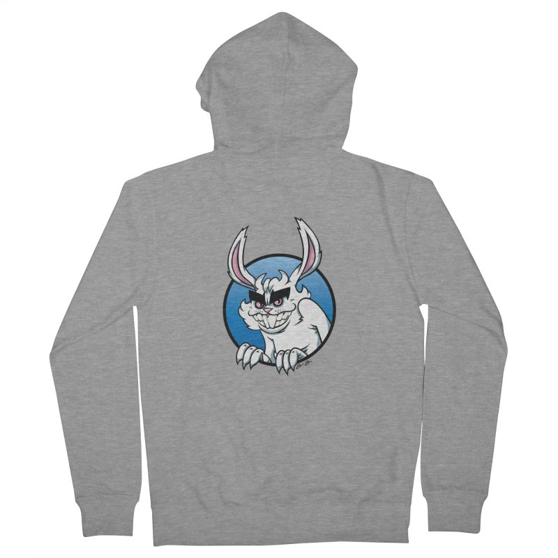 Bad Bunny Women's French Terry Zip-Up Hoody by bennygraphix's Artist Shop