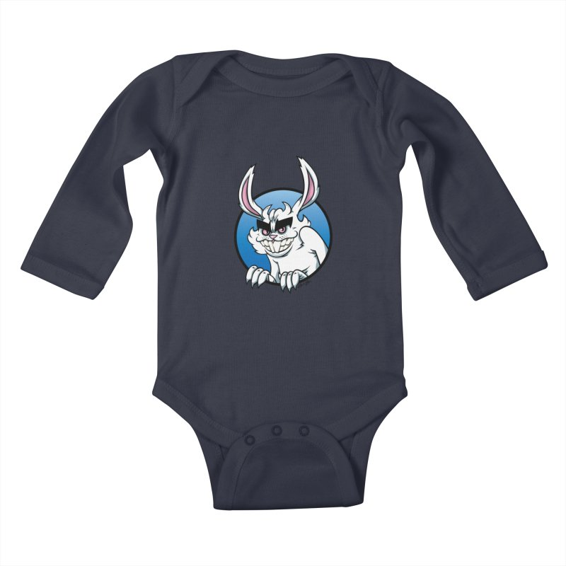 Bad Bunny Kids Baby Longsleeve Bodysuit by bennygraphix's Artist Shop