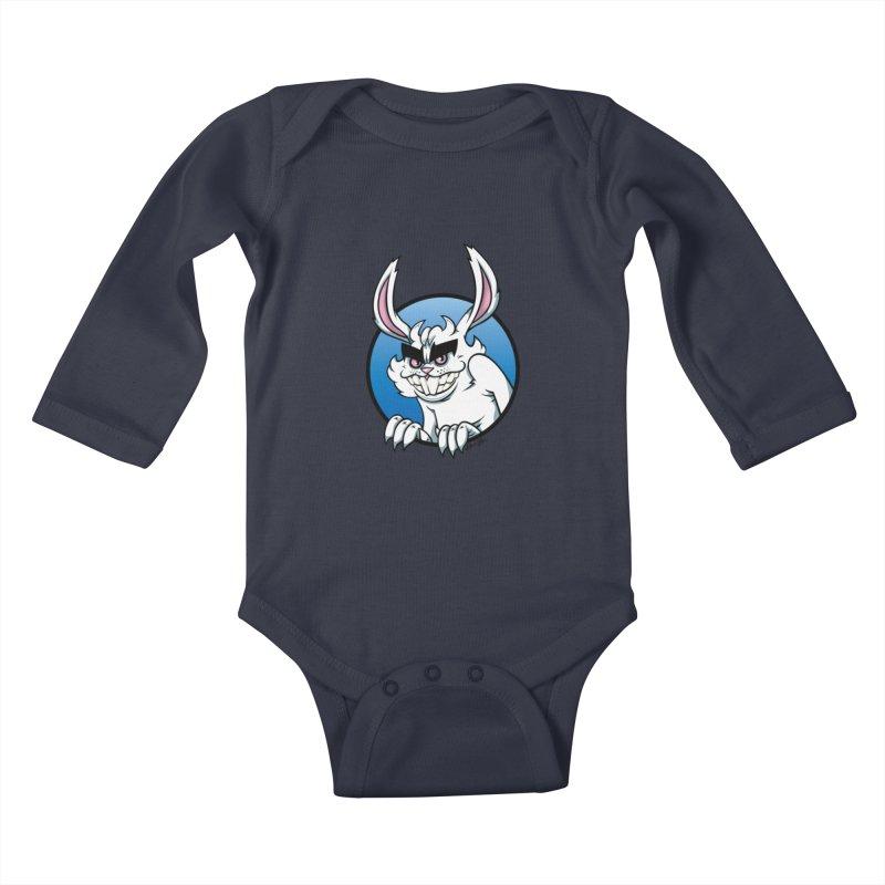 Bad Bunny Kids Baby Longsleeve Bodysuit by bennygraphix's Artist Shop
