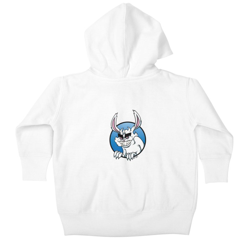 Bad Bunny Kids Baby Zip-Up Hoody by bennygraphix's Artist Shop